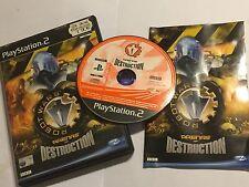 PLAYSTATION 2 PS2 GAME ROBOT WARS ARENAS OF DESTRUCTION COMPLETE PAL GWO