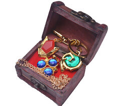 Legend of Zelda Ocarina of Time Spiritual Stones Necklace Pendant 3Style +Chain