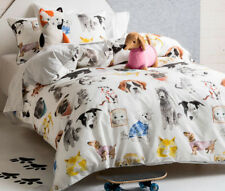 Hiccups Pets Life Quilt Duvet %7c Doona Cover Set %7c Tom-cat & Sausage Dog Cushion