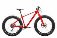 """2017 Specialized Fatboy Comp Carbon Fat Mountain Bike Large 26"""" SRAM X0 10 Speed"""