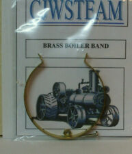 CJW Steam PAIR OF BRASS BOILER BANDS Mamod Wilesco Live Steam Models