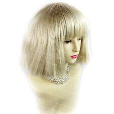 Wild Short Pale Blonde Beautiful Curly Ladies Wig From WIWIGS UK