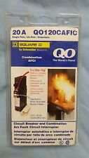 Square D , QO120AFIC Single Pole, 20 A,Combination Arc Fault Circuit Interrupter