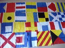 Beach Party String of 26 Flag 8 Feet Long MARITIME Signal Code FLAG Set