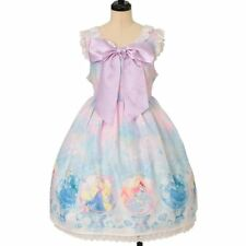 Angelic Pretty Fairy Season Disney Princess Jumper skirt One piece dress FREE M