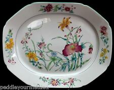 "RARE Mottahedeh Lady Charlotte's Lily Williamsburg Platter 13.50"" Octagonal NWOT"
