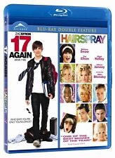 Double Feature: 17 Again / Hairspray (Blu-ray, 2010, Widescreen, Canadian) *NEW*