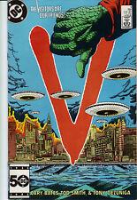 V the series #5 comic 1985       visitors      d