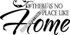 No Place Like Home Interior Home Vinyl Decal HM004