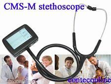 CMS-M Multi-function electronic stethoscope ECG EKG Spo2, Free Spo2 probe