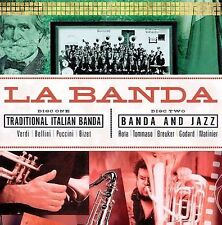 La Banda: Traditional Italian Banda & Jazz 2 CD Discs - New, Sealed