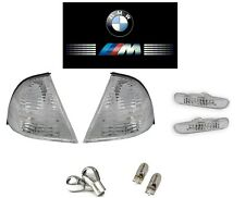 KIT CLIGNOTANT BLANC BMW SERIE 3 E46 BERLINE TOURING PHASE 1 1998 A 09/2001