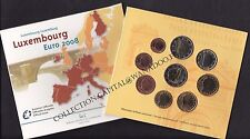 Euro Luxembourg BU 2008 9 pièces 1ct à 2€, 2€ Commémorative Château de Berg
