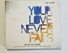 JESUS CULTURE  Your Love Never Fails CD/DVD 2010 Christian Music