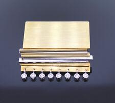 BROSCHE AUS 750/-GOLD UND 950/-PLATIN MIT 8 BRILLANTEN 0,33ct Wert EUR 4570,-