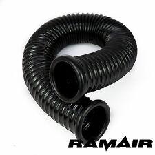Ramair de conductos de aire frío piensos Manguera Para Inducción Kits De 76mm X 500mm Con 2 tapilla