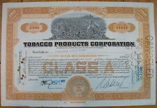 """Action TABAC """"Tobacco Products Corporation"""" USA 1929, Plantation"""