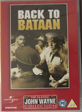 Back to Bataan (1945) John Wayne, Anthony Quinn DVD New Free Post