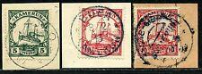 Kamerun Mi 21 I, 22 (2) Briefstücke Joko, Buea + Abong-Mbang     45,-