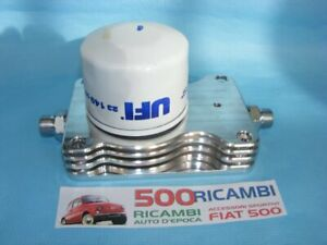 FIAT 500 F/L/R 126 KIT MINI RADIATORE OLIO IN ALLUMINIO + FILTRO RAFFREDDAMENTO