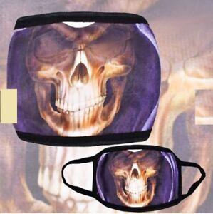 Nananico Skull Unisex Anti-Dust Outdoor Face Mask
