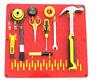 Metal Garage Tool Storage Board Pegboard Tool Organiser Wall Mounted - SB200