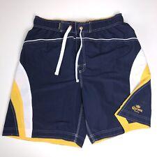 7a907fff9e Corona Swim Trunks Men's Size XL Blue Yellow Beer Beach Spring Break