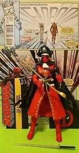 Marvel Legends PIRATE DEADPOOL - STRONG GUY BAF+DEADPOOL SECRET COMIC VAR .# 4