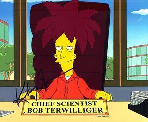 Kelsey Grammer SIGNED 10X8 PHOTO The Simpsons Sideshow Bob AFTAL COA (5655)