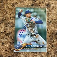Cheslor Cuthbert Signed 2018 Topps Kansas City Royals Chicago White Sox