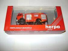 HERPA MAN F 2000 TLF CAMION POMPIERS 1:87 / NEUF DANS EMBALLAGE D'ORIGINE