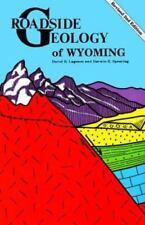 Roadside Geology of Wyoming  David Lageson  Good  Book  0 Paperback