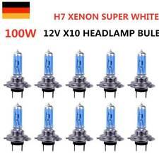 10x H7 Birnen Xenon Optik Halogenlampen 8500K Super Weiss 100 Watt 12V SuperStar