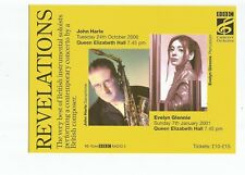 Postcard Revelations Concert Q E Hall BBC Evelyn Glennie     (A27)