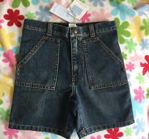 New Janie and Jack Boys 2005 OUT WEST LINE Denim Shorts, size 4