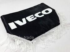 IVECO finestra SCUDO Pelmet TENDINE PARABREZZA CAMION FURGONE Logo Emblema Nero