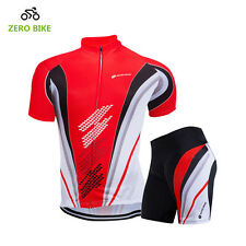Mens Pro Team Cycling Jersey Set Top   Shorts Kits MTB Quick-Dry Sportswear  Suit c7196c28a