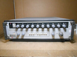 GENERAL RADIO 1061 FREQUENCY SYNTHESIZER