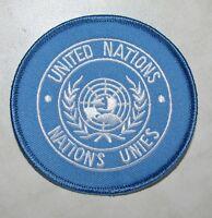 International U.N UN United Nations Official Genuine Shoulder Patch Badge