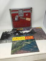 THE EAGLES Live BB-705 - 2 LP, Vintage From 1980 Complete W Inserts And Poster