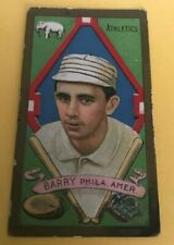 "1911 T205 GOLD BORDER JOHN ""JACK"" BARRY EX/EX+ NEW YORK GIANTS PIEDMONT SEE PICS"