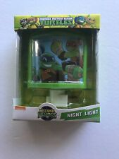 Nickelodeon Teenage Mutant Ninja Turtles Green Night Light On Off Switch