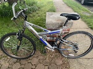 Mongoose Plan X Full Suspension Mountain Bike