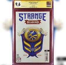STRANGE ACADEMY #2  2ND PRINT VARIANT COVER CGC 9.6 SS SIGNED BY SKOTTIE YOUNG