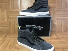 RARE🔥 VANS Sk8-Hi Vault Zip LX Premier Suede Port Royal 13 Skateboarding Shoes