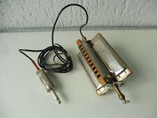 schöne, alte Mundharmonika ,Hohner Blues Harp , Kreuzwendher B C F G ,elektrisch