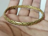 Rare Ancient Viking Bracelet Bronze Twisted Artifact Quality Very Stunning