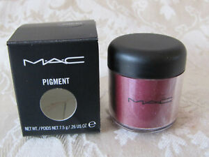 New in Box MAC Pigment ACCENT RED Discontinued Full Size 7.5g