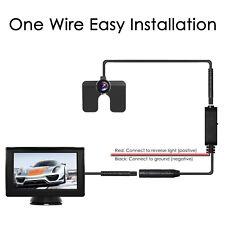 AUTO-VOX M1 Car Rear View Camera Kit 4.3'' LCD Monitor + Reverse Backup Camera