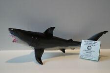 Schleich 16213 Monterey Bay Weißer Hai white shark Safari ltd von 1991 mit Karte